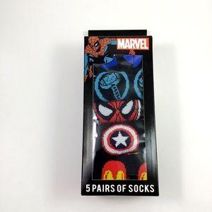 New Mens Marvel Comics Avengers Low Cut Socks 6-12